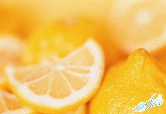 Лимон против прыщей