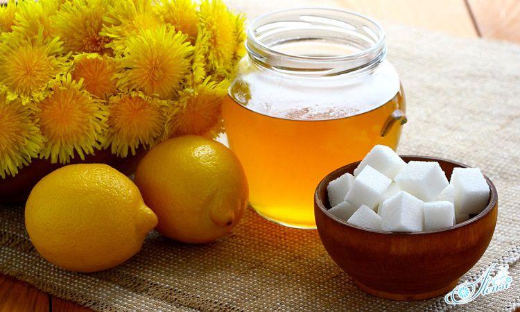 варенье из одуванчиков с лимонами