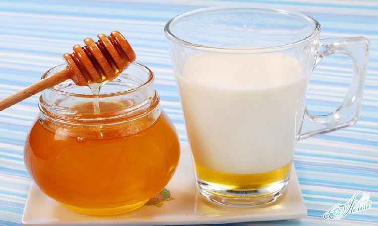молоко и мед от кашля