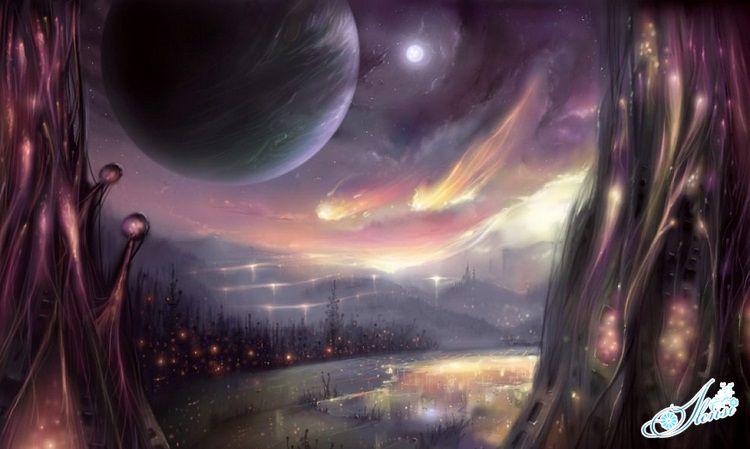 Космический ландшафт