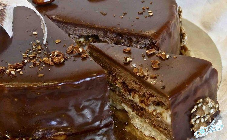 Торт Мишка бисквитный