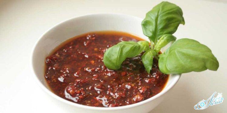 Соус Песто красный по итальянскому рецепту