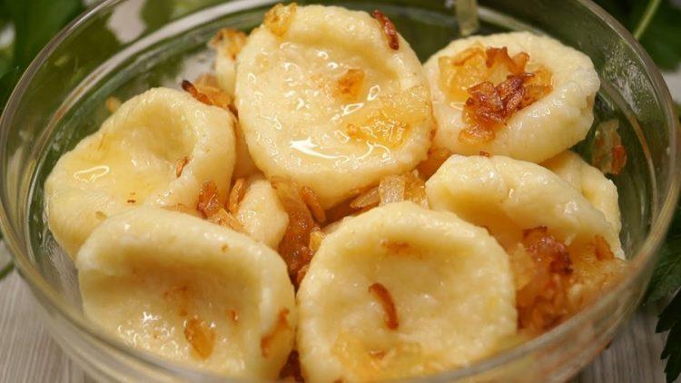 картофельные вареники