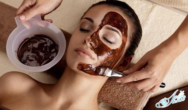 Маска из какао и льна для лица
