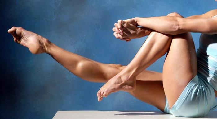 Красивые ноги после упражнений
