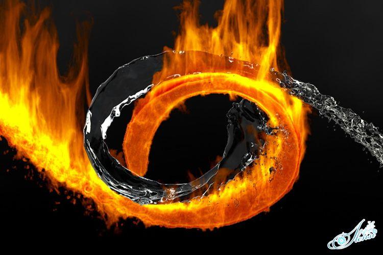 Огонь и вода, бурление