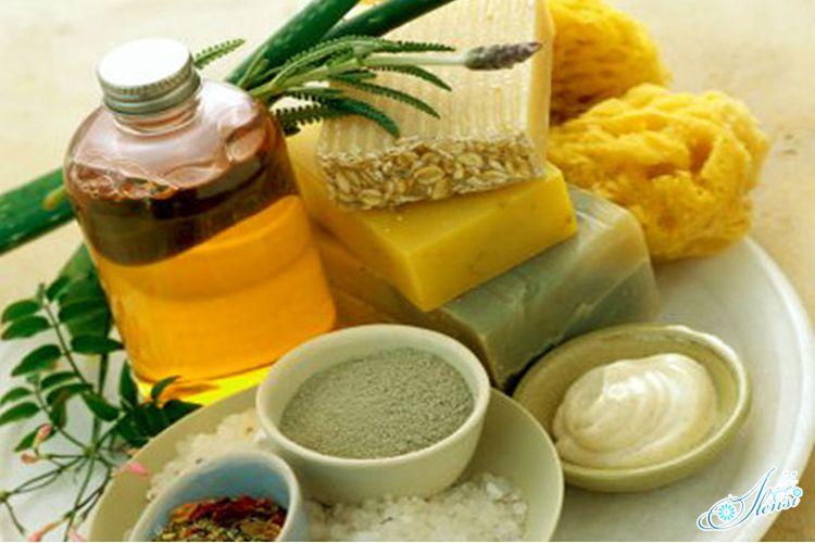 ингредиенты для изготовления домашнего скраба