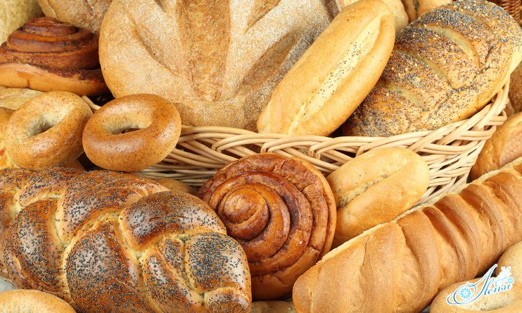 Свежий хлеб.