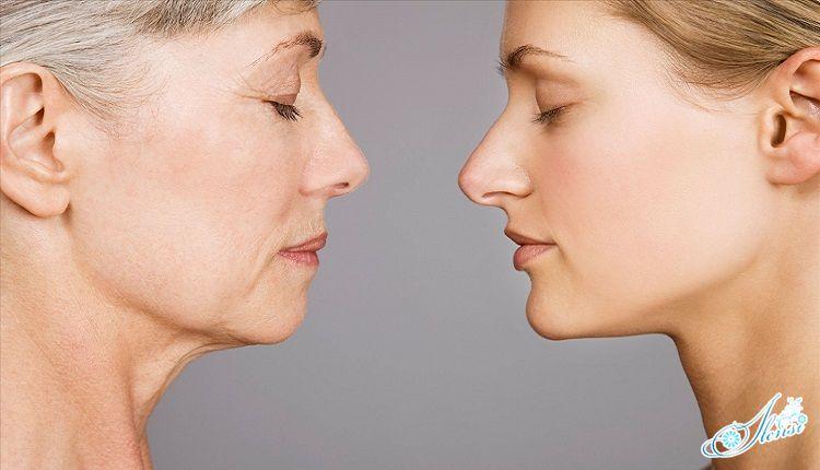 два женских лица старое и молодое
