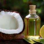кокос, кокосовое масло, лимон