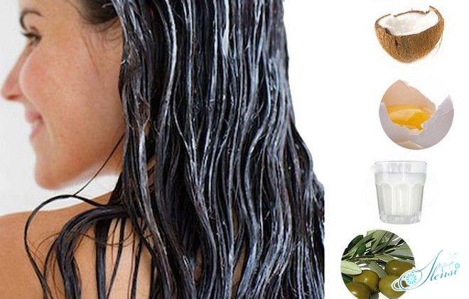 Маска на волосах и ингредиенты