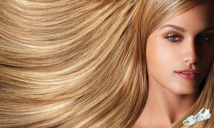 Красивые волосы у блондинки