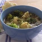 Овощной суп с цветной капустой по классическому рецепту