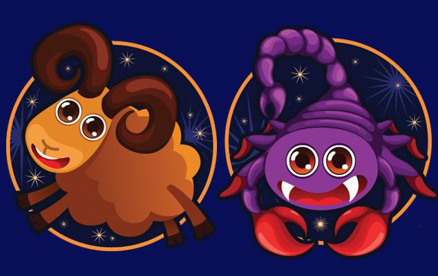 Астрологическая совместимость Овна и Скорпиона