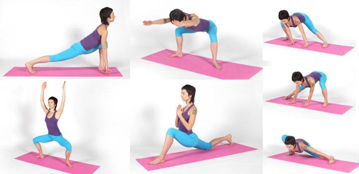 комплекс упражнений для растяжки на коврике