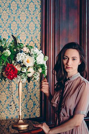 Оригинальный флорист Наталья Родикова на фото