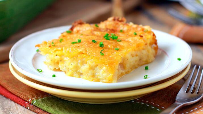 Топ-5 рецептов картофельной запеканки без мяса