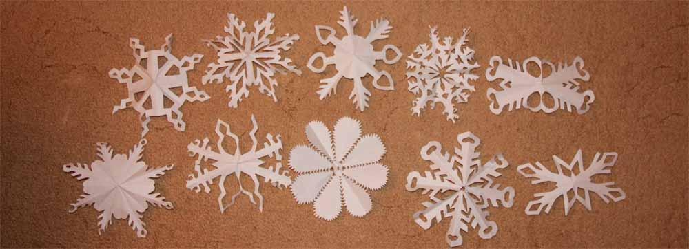Вариант снежинок